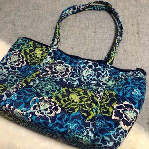 Vera Bradley weekender tote bag blue floral